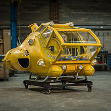 Thunderbird 4 - theatrical props hire