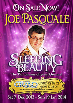 Sleeping Beuaty Pantomime - special effects props hire
