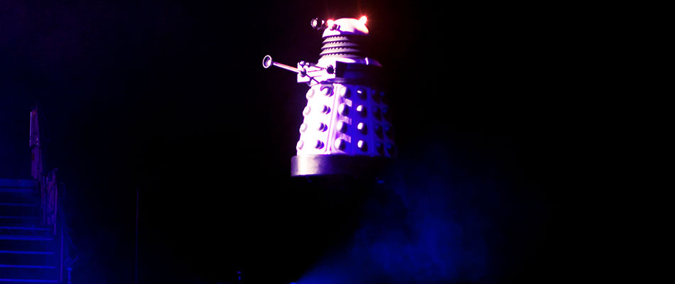 flying dalek - special effect hire