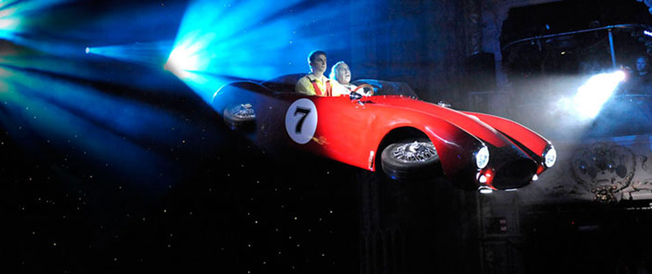 flying car - theatrical special effects rental