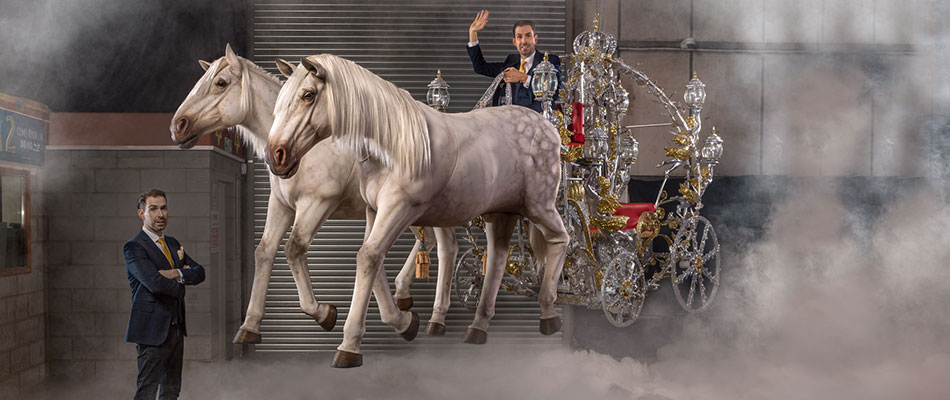 The Ultimate Carriage and Horses